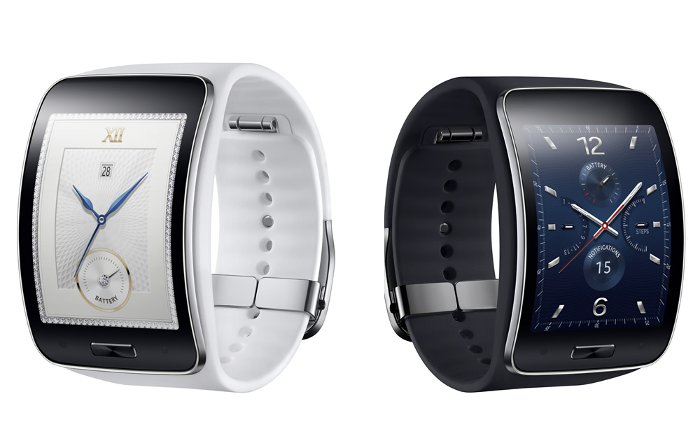 Samsung Gear S Smartwatc  Black and White