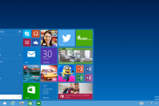 Start menu: The familiar Start menu is back, but it brings with it a new customizable space for your
